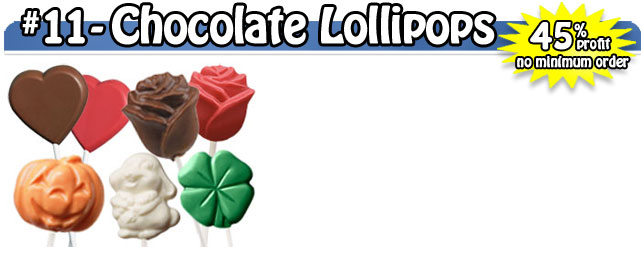 Milk Chocolate Lollipops
