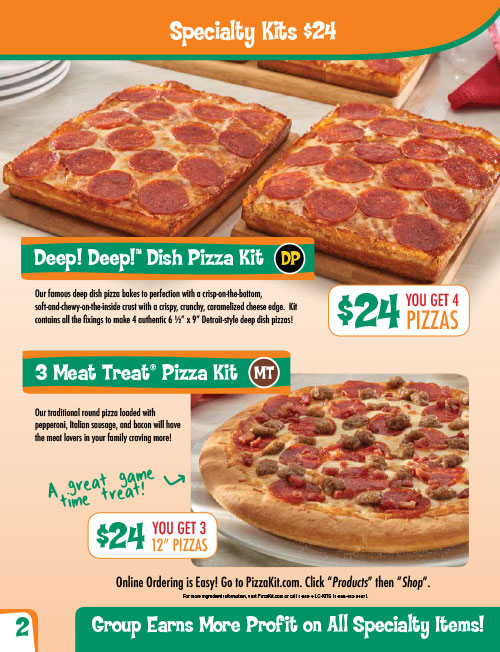 Little Caesars Pizza Kits Wow Fundraising