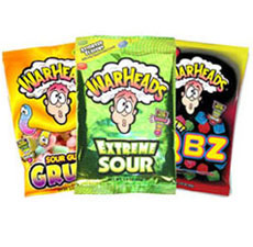 Warheads Fundraising Product