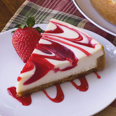 Straw Swirl Cheesecake | WOW! Fundraising