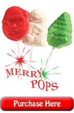 Merry Christmas Fundraising Lollipops