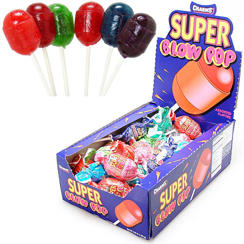 Super Blow Pops with Carrier