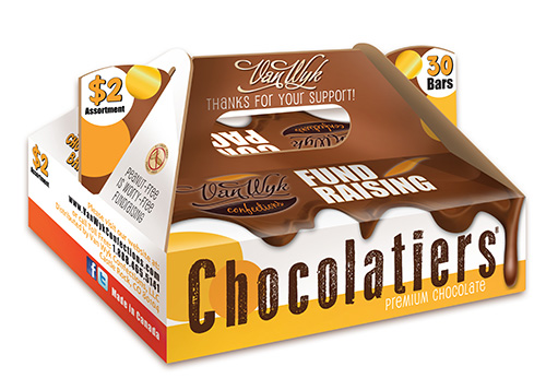 Chocolatiers $2.00 Candy Bars