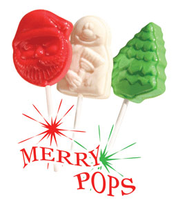 Merry Pops (Christmas Lollipops)
