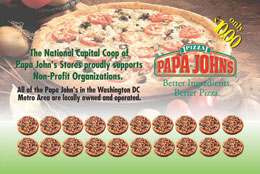 Papa John's Pizza Cards