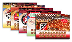 Pizza Cards including Pizza Hut