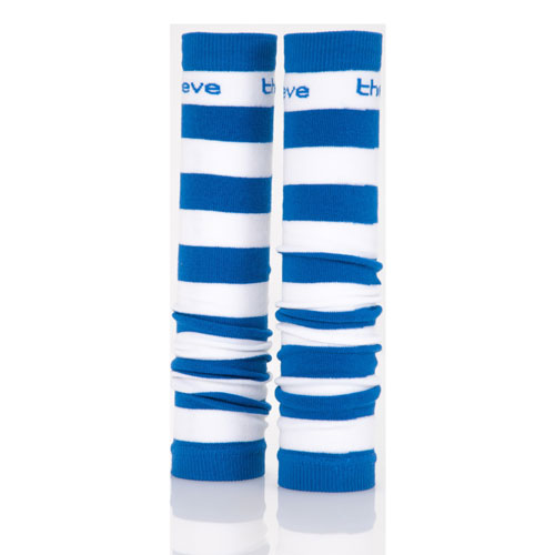 Royal Blue and White Spirit Sleeves