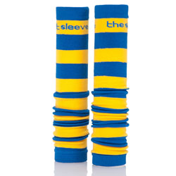 Royal Blue and Yellow Spirit Sleeves