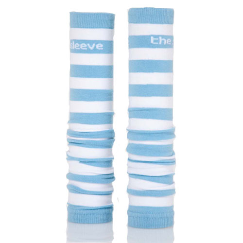 Sky Blue and White Spirit Sleeves