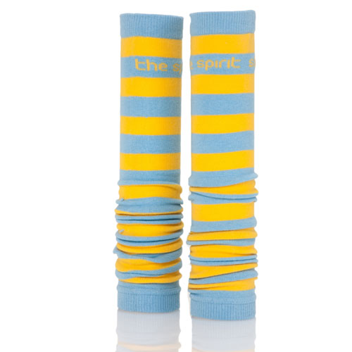 Sky Blue and Yellow Spirit Sleeves