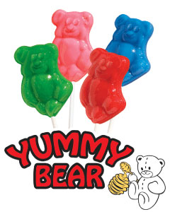 Yummy Bear Lollipops