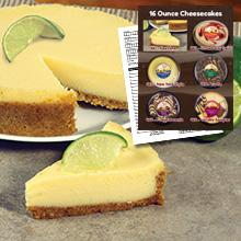 Heidi's 16 oz. Cheesecake Brochure