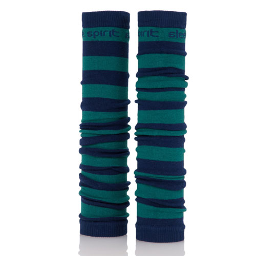 Navy and Green Spirit Sleeves