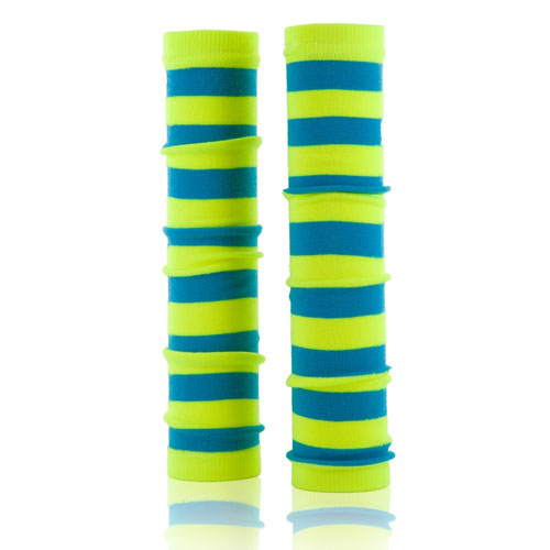 Neon Blue and Yellow Spirit Sleeves