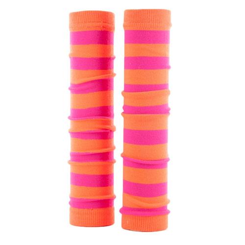 Neon Pink and Orange Spirit Sleeves