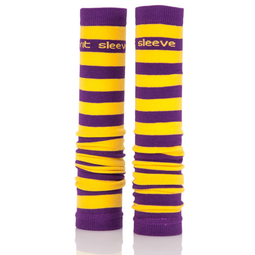 Purple and Gold Spirit Sleeves